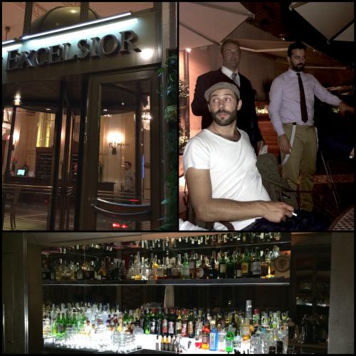 Check in au Westin Excelsior et dernier verre à l'hôtel de Russie