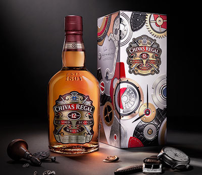 Chivas 12 « Made For Gentlemen » par Bremont // DR