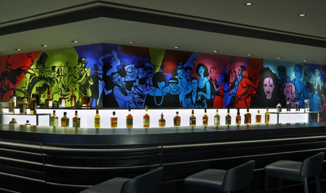 Bar Brûlé © W Paris - Opéra