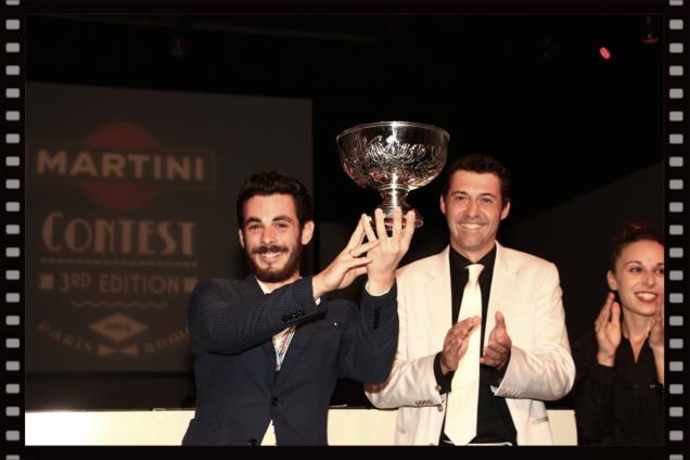 Romain Krot, lauréat du Martini® Contest 2014 // © Infosbar.com