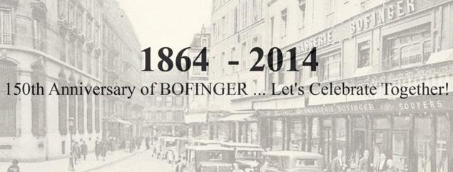 150 ans de Bofinger