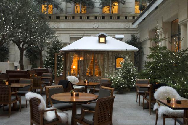 Terrasse d'hiver du Park Hyatt Paris-Vendôme // DR