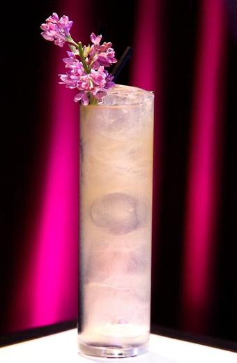 """Cocktail """"Le Boissonneur des Lilas"""""""