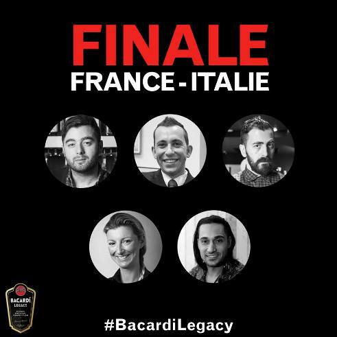 Bacardí Legacy Global Cocktail Competition 2015 : les finalistes Italiens