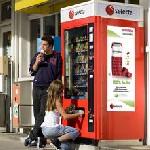 Suisse : Selecta troque ses clopes contre des jus de fruits