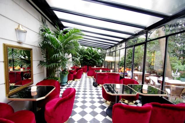La verrière du bar Le Très Particulier // © Infosbar.com