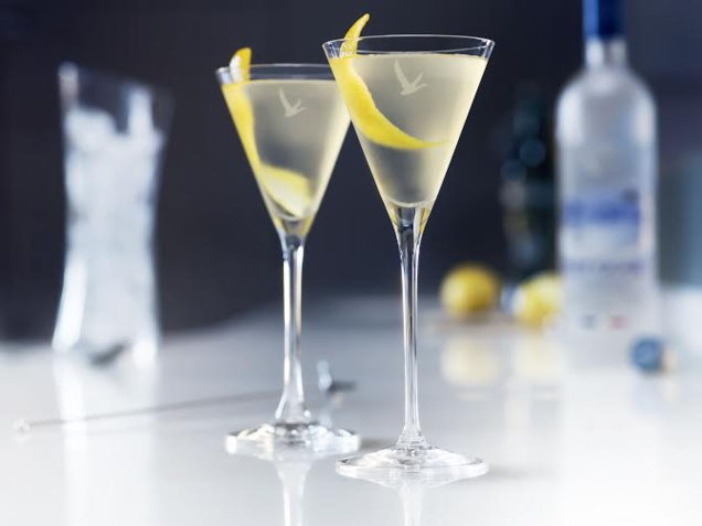 GREY GOOSE DRY MARTINI // DR