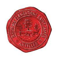 cachet de cire avec logo historique SAINT JAMES & logo Société SAINT JAMES