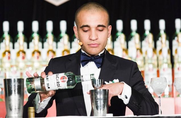 Franck Dedieu // © Bacardi Legacy Global Cocktail Competition 2015