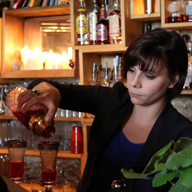 bartenders at work by infosbar   le cv express de audrey