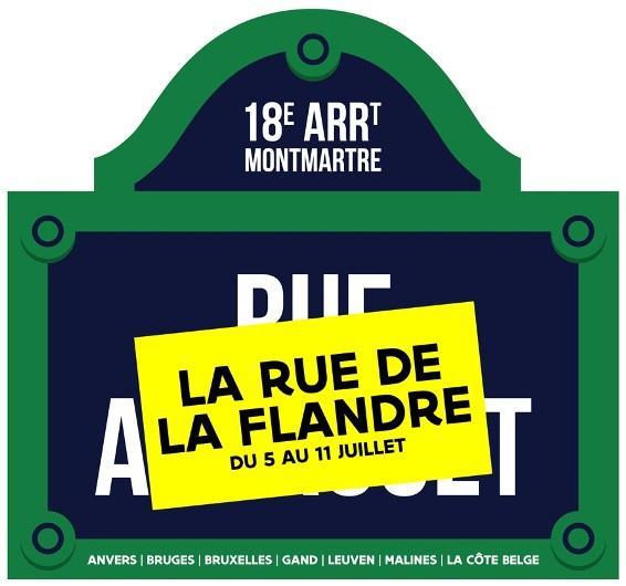 La Rue de la Flandre // DR