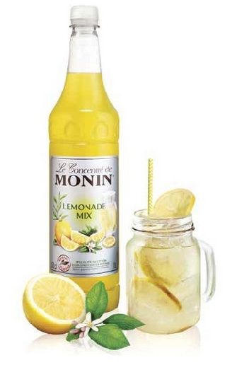 "Cocktail ""British Limonade"" by MONIN // DR"