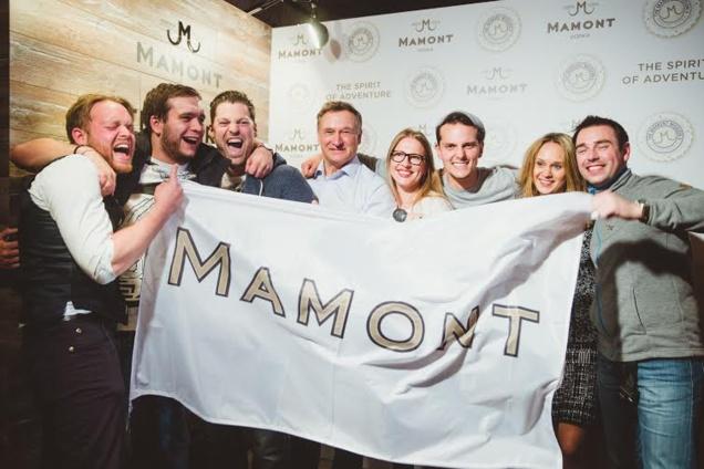 Les lauréats du Mamont Mission II
