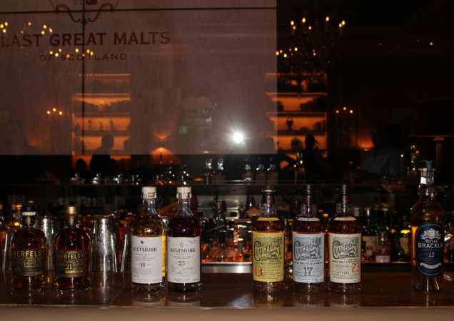 La gamme des Last Great Malts Of Scotland