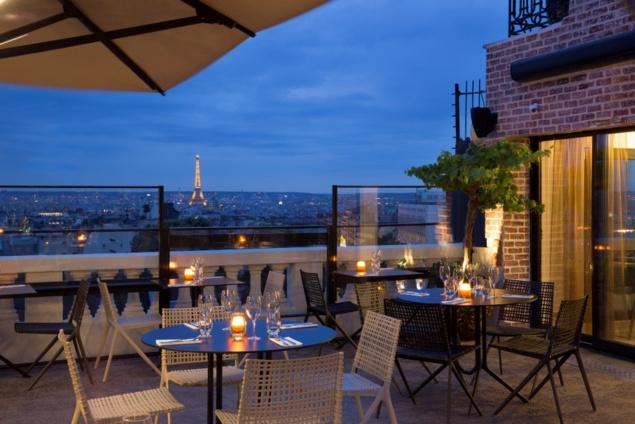 Rooftop du Terrass'' Hôtel // DR