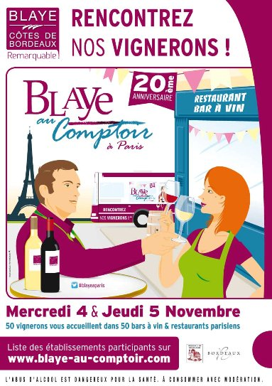 Blaye Au Comptoir 2015 à Paris // DR