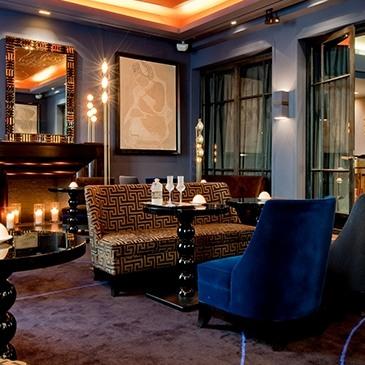 Bar Le Baudelaire // © Le Burgundy Paris
