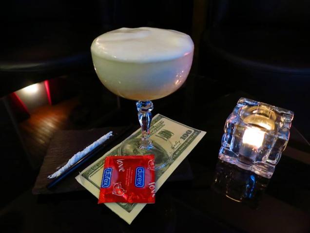 """Cocktail """"Le Loup de Wall Street"""" // © Alexandre Jacques"""