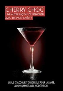 Cherry Choc par Mon Chéri et Romain Petit