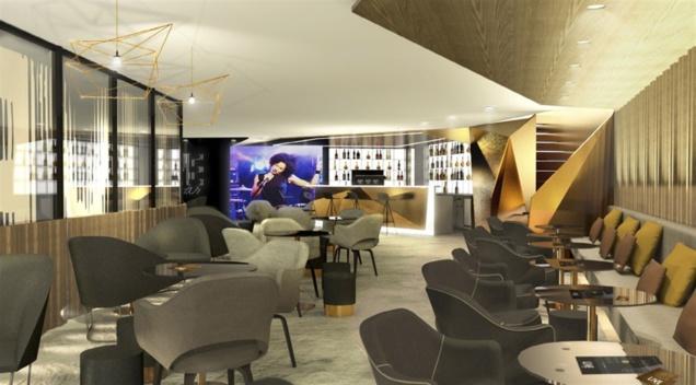 L'American Express Live Bar à l'AccorHotels Arena de Paris