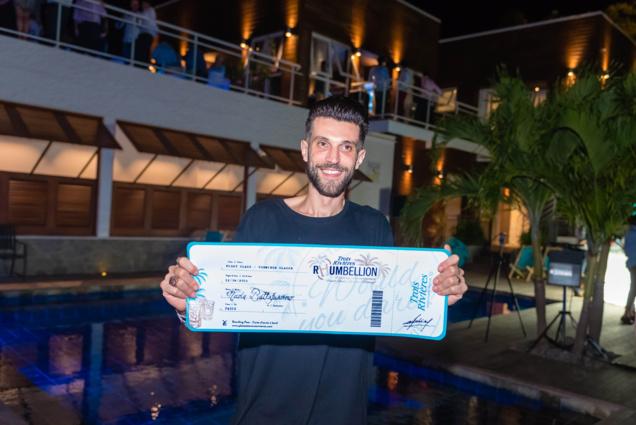 Finale Concours Trois Rivières Rhumbellion : Nicola Battafarano remporte la première édition