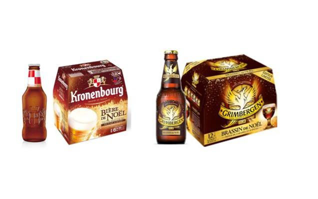Bières de Noël 2015 by Brasseries Kronenbourg