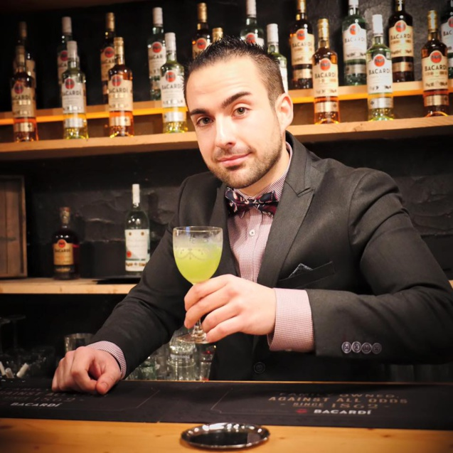 Bartenders at work by Infosbar : le CV express de Matthieu Henry