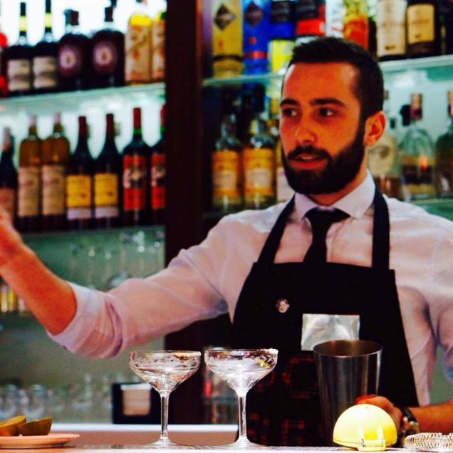 Bartenders at work by Infosbar : le CV express de Pierre Blin