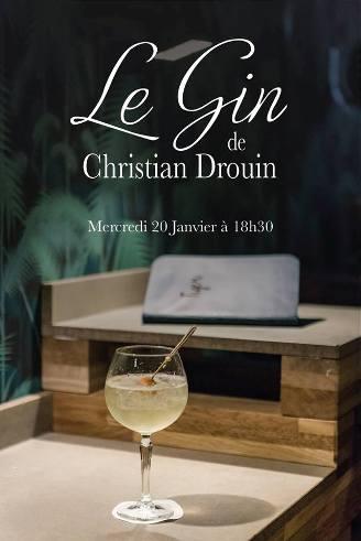 Dégustation du Gin Christian Drouin