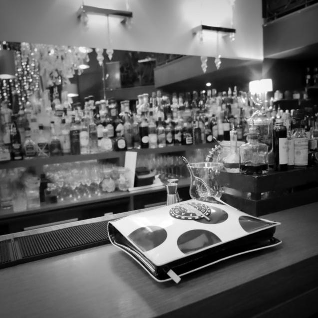 La mascotte d'Infosbar, au Café Juliette