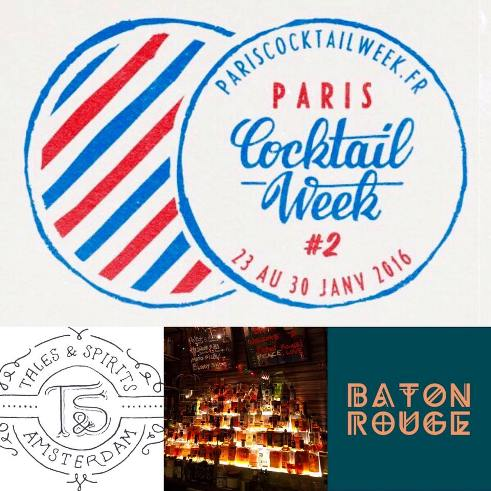 Paris Cocktail Week 2016 : Tales and Spirits au Baton Rouge