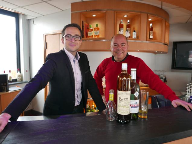 David Ecomard et Jean Burdy (Pernod Rhône-Alpes)