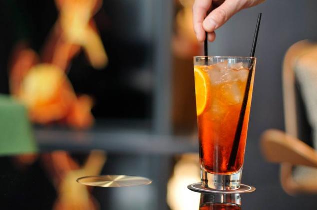 Bar éphémère Cointreau à L'hôtel Le Cinq Codet