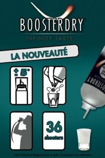 Boosterdry ou la nouvelle façon de déguster de la vodka
