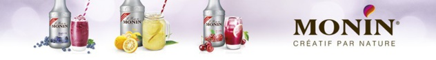 "Cocktail ""Fresh Strawberry"" by MONIN et 1664"