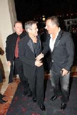 G. Clooney & Jean-Roch au VIP Room