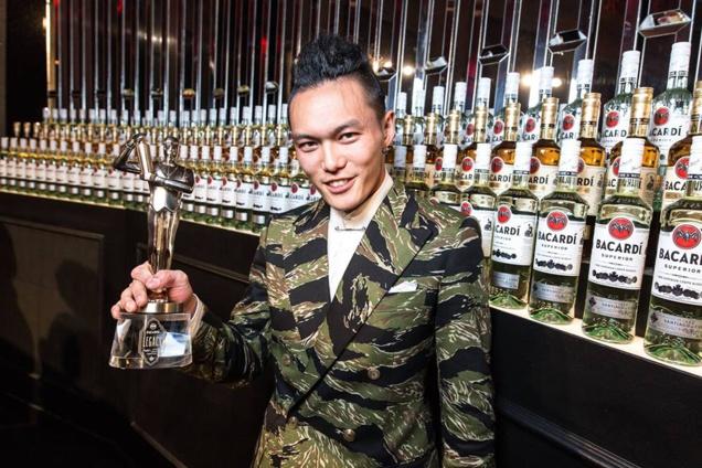 Gn Chan, champion de la Bacardi Legacy 2016