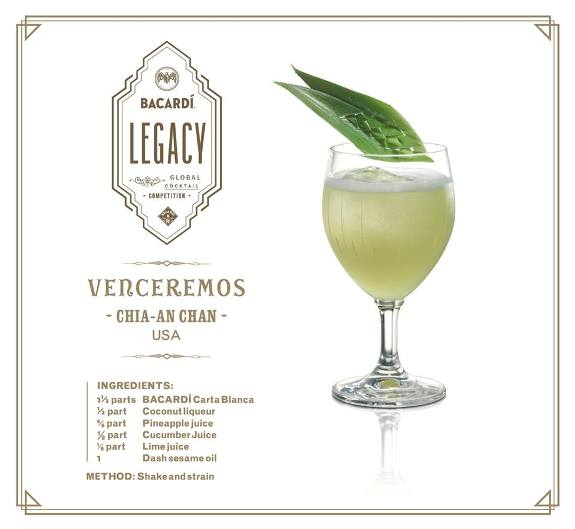 """Cocktail """"Venceremos"""" by Gn Chan"""