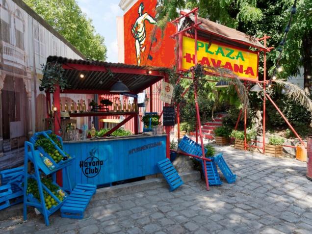 Plaza Havana : terrasse éphémère au Café A à Paris