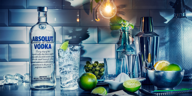 Absolut lance un site dédié à l'art du cocktail