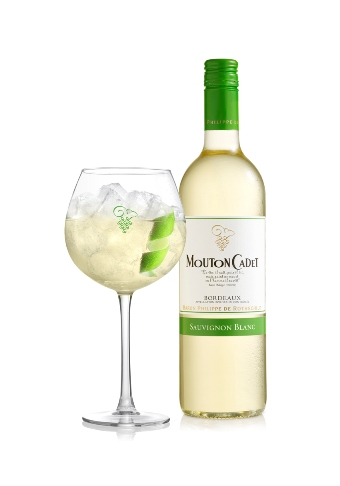 Cocktail Green Cadet by Mouton Cadet