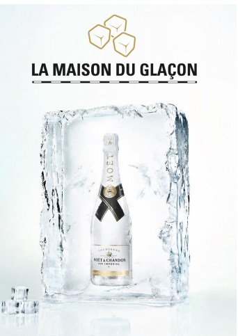La Maison du Glaçon par Moët & Chandon de retour à Paris