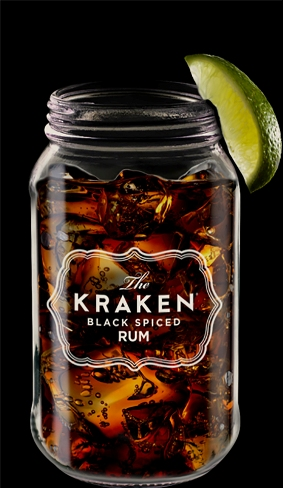 "Cocktail ""The Perfect Storm®"" by Kraken"