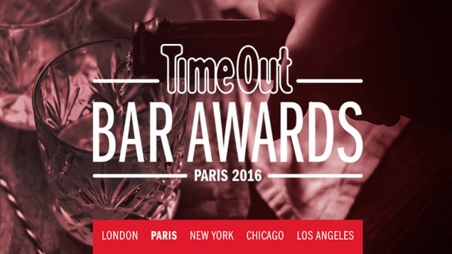 Bar Awards 2016 par Time Out Paris : le palmarès