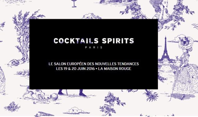 Cocktails Spirits Paris 2016 : programme du Bar Rouge et du Symposium P(our)