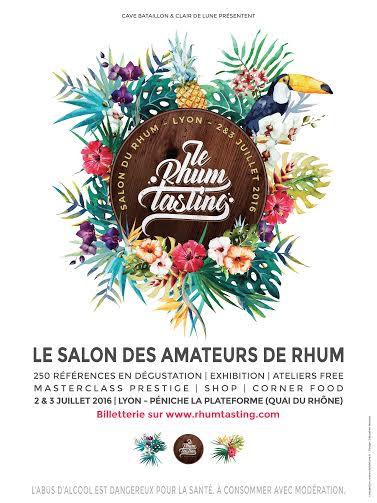 Salon Rhum Tasting à Lyon