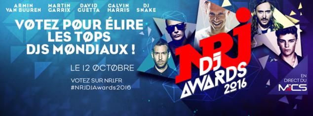NRJ DJ Awards 2016 : liste des nommés