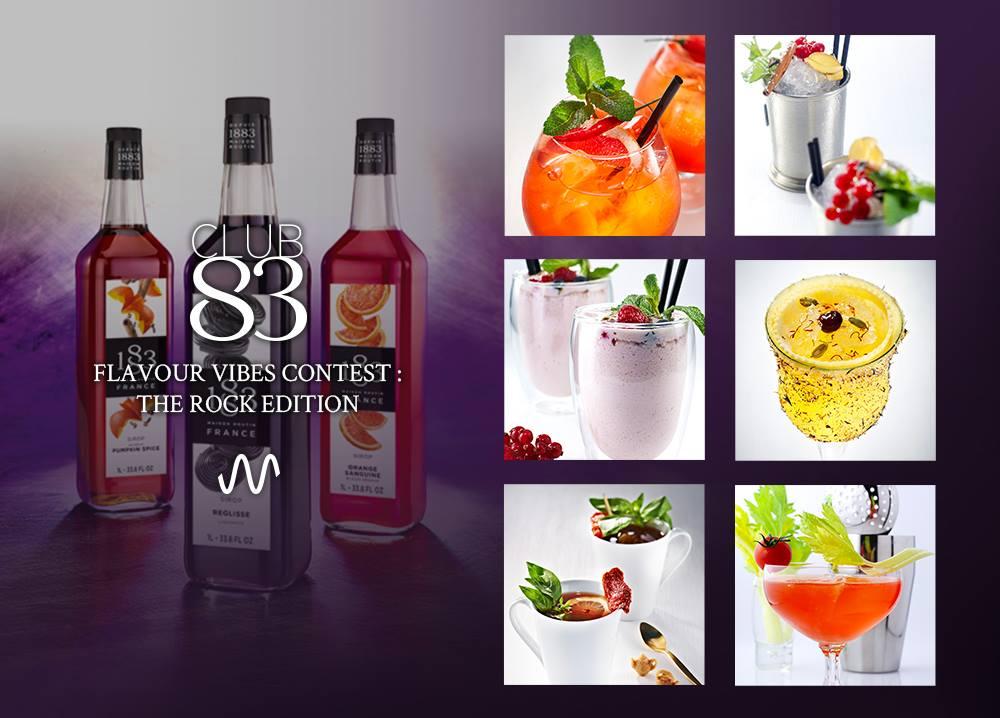 Club 83, la plateforme du Barista et du Bartender lance la 2ème édition du Flavour Vibes Contest