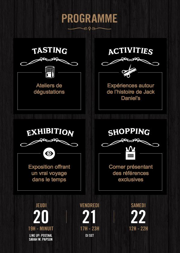 La Jack Daniel's House s'installe à Paris