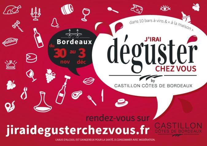 « J'irai déguster chez vous » débarque à Bordeaux